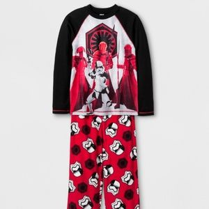 🚨🚨🚨Boy's Lucas Star Wars VII Pajamas Set Size M